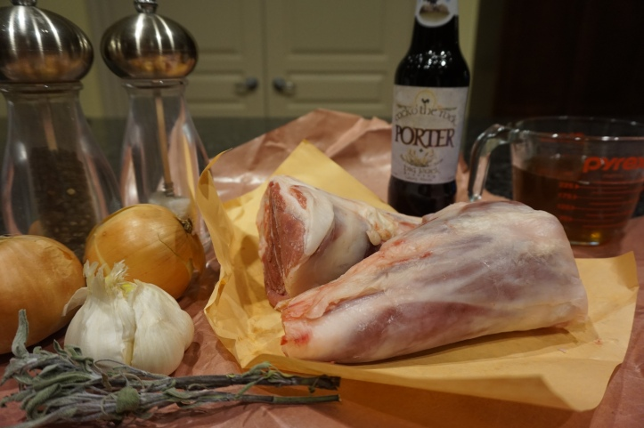 how to cook a lamb shank in beer