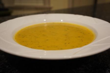 butternut squash/pumpkin soup