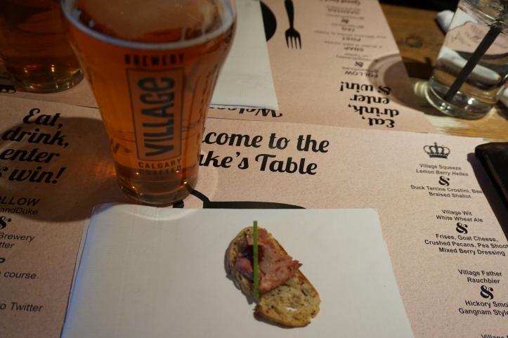 Pig and Duke Pub Calgary - Brewmasters Dinner