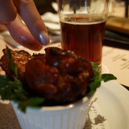 Pig and Duke Pub Calgary - Brewmasters Dinner chicken wings