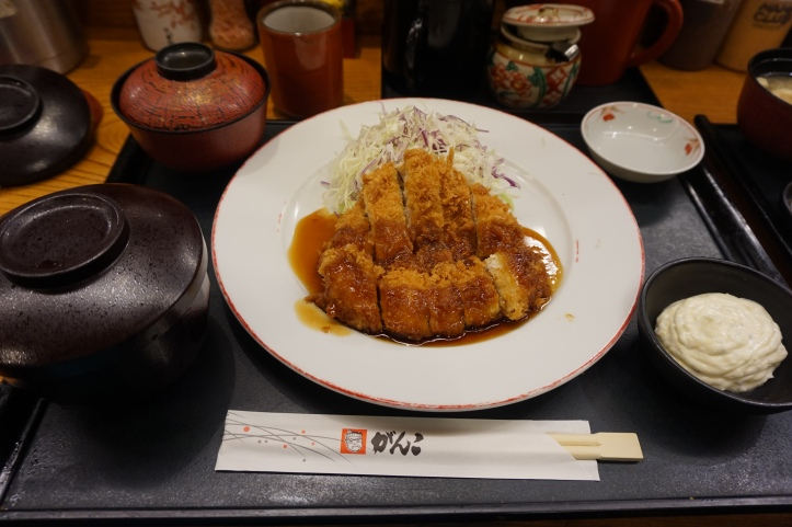 Japanese Tonkatsu chicken