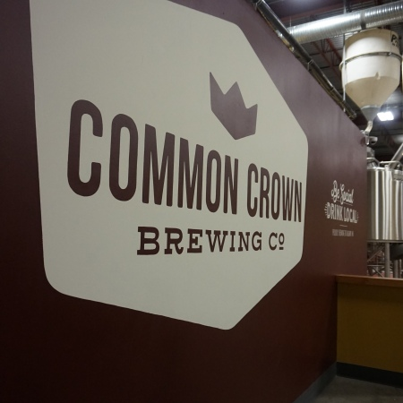 Common Crown Brewing Co. sign