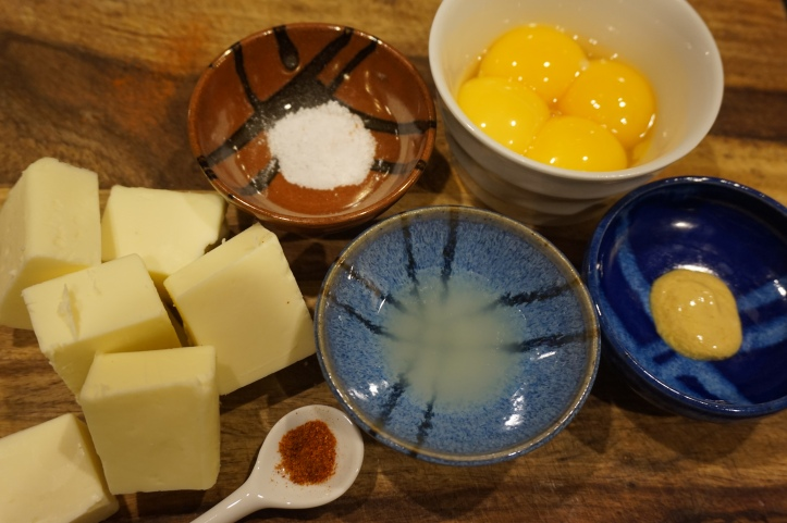 Dijon hollandaise sauce ingredients