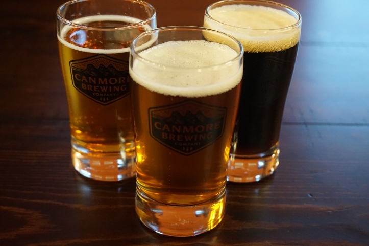 Canmore Brewing Company beers