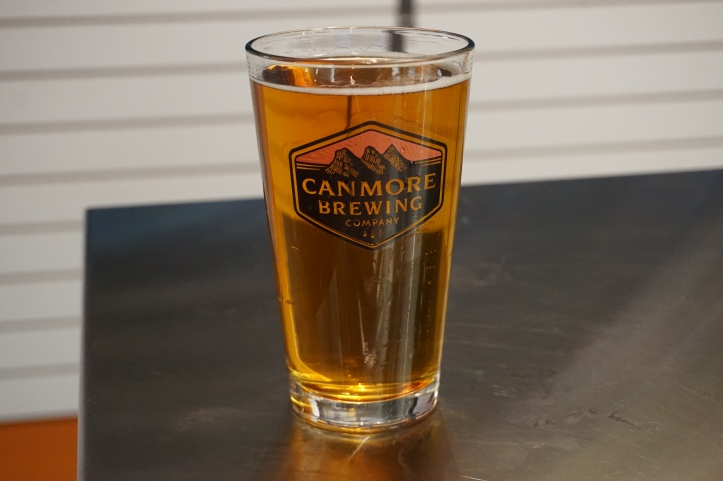Canmore Brewing Company pale ale