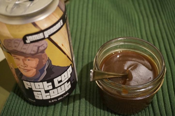 toolshed flat cap stout caramel
