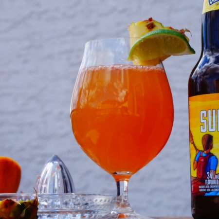 tequila summer ale cocktail
