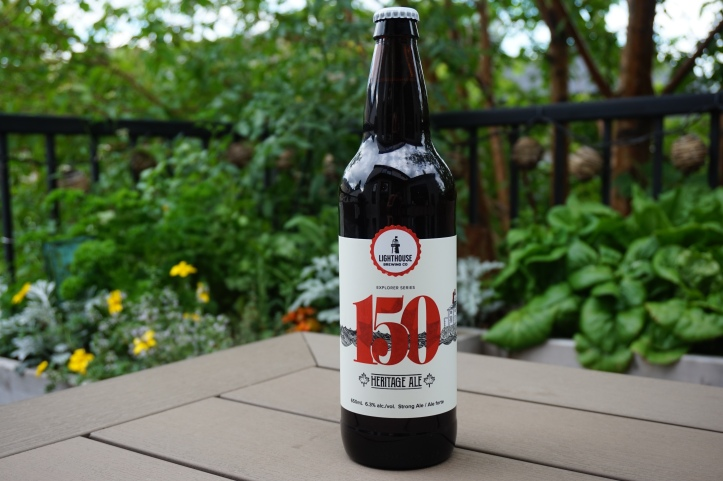 Lighthouse brewing 150 heritage ale