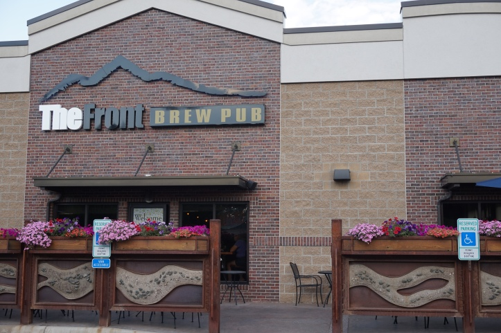 the front brew pub entrance