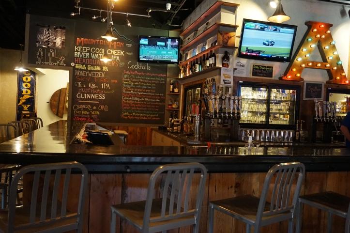 the front brew pub