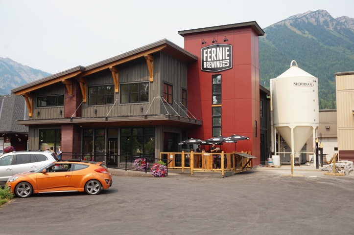 fernie brewing outside