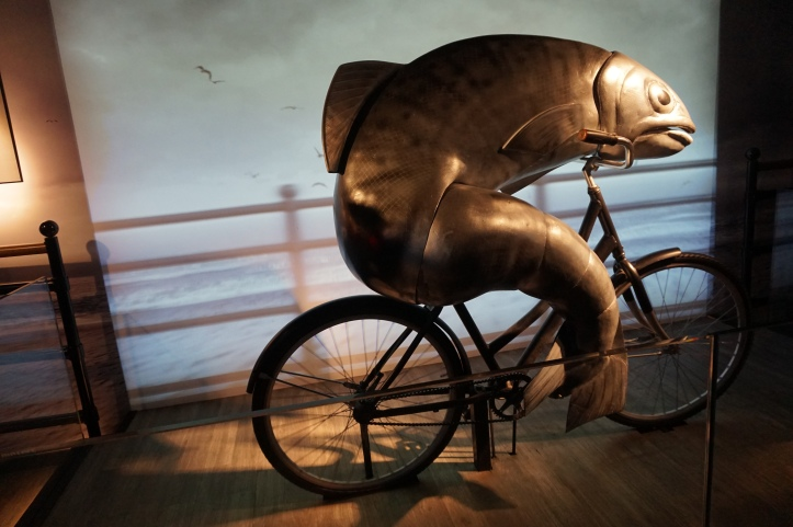 guiness fish on bike