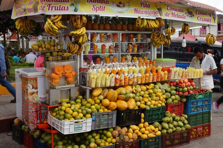 Fruit stand in Salento