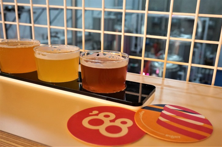 eighty eight brewing flight