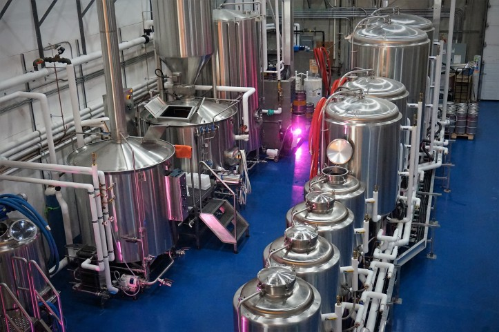 eighty eight brewing tanks