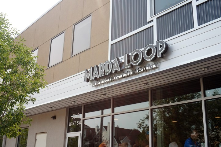 Marda Loop Brewing entrance (2)