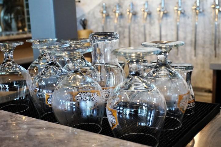 Marda Loop Brewing glasses (2)